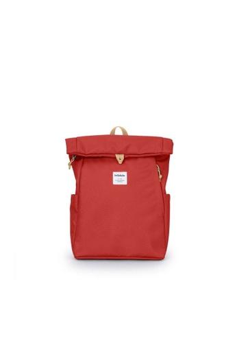 Hellolulu red Hellolulu Mini Tate Backpack (Pomegranate) B3FE4ACA4E43F7GS_1