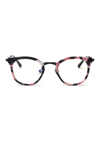 c11f17fade Kyfer s Eyewear   Essentials black and pink and multi GM Angular Glasses  KY376AC95WNOSG 1
