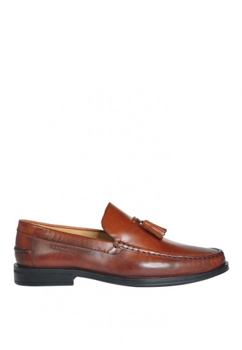Sebago brown Eliott Tassel Dress Casual Shoes SE328SH0K35WPH_1