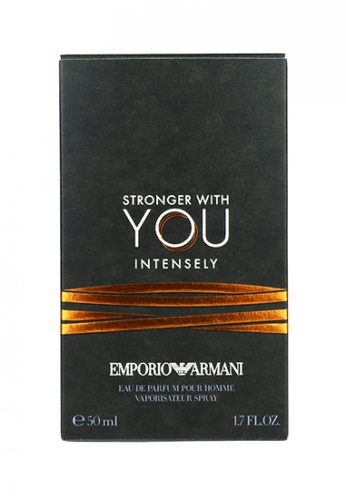 Giorgio Armani ARMANI Stronger With You Intensely EDP Pour Homme Spray 50ml 0C54DBE66137AAGS_1