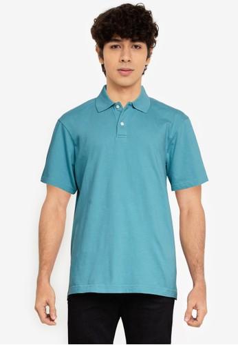 Gap green Jersey Polo Shirt EEB8CAAF0FE6DBGS_1
