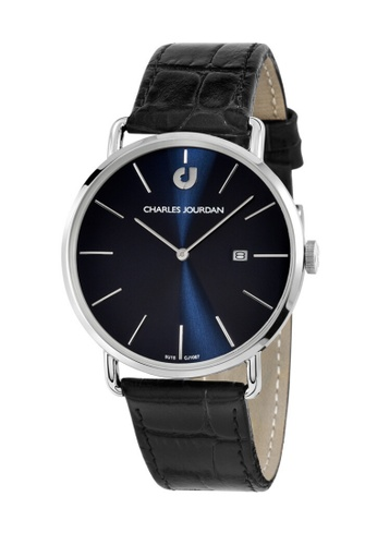 Charles Jourdan navy Charles Jourdan Men Watch Classic Quartz CJ1067-1382 7B76BACEA901A5GS_1