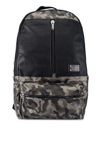 High Cultured black Leather Backpack HI002AC0S1X1MY_1