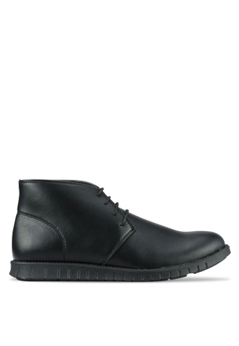 UniqTee black Original Desert Chukka Boots UN097SH0RS4TMY_1