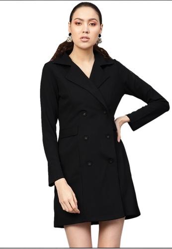SASSAFRAS black Black Blazer Dress 40122AA8A2FC98GS_1