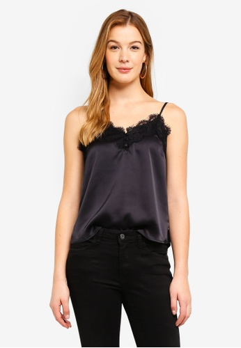 Abercrombie & Fitch black Basic Cami Top 8D58BAA6F4E7C0GS_1