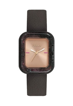 ba8d446d4 Furla brown Elisir Quartz Watch R4251111503 Brown Leather Strap  08FEFAC656EA3AGS 1