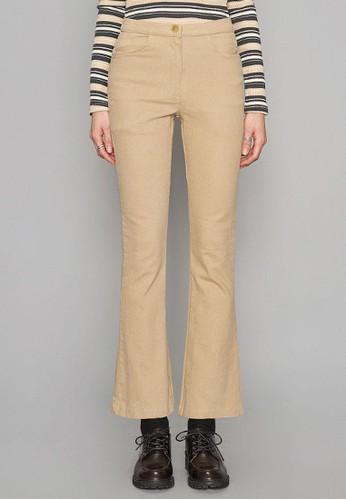 柔和純棉微喇褲, 服esprit 評價飾, 直腳褲