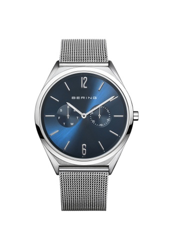 Bering silver Bering Ultra Slim Blue Unisex Watch (17140-007) DEB6FAC66A6C3BGS_1
