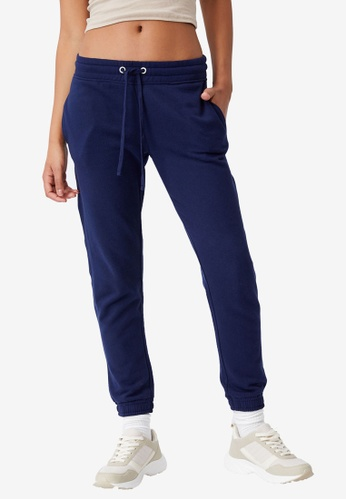 Cotton On navy Slim Fit Track Pants 6097EAAC7EABDCGS_1