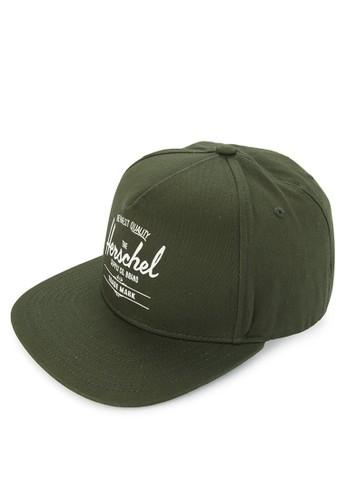Herschel green Whaler Cap 6D3A1AC34F9753GS_1
