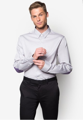經典棉質長esprit門市袖襯衫, 服飾, 襯衫