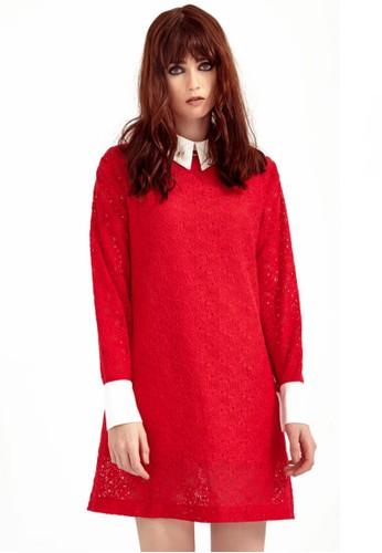 蕾絲洋esprit 京站裝, 服飾, 短洋裝