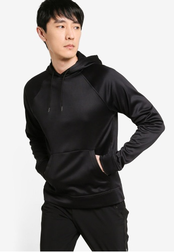 Old Navy black Soft-Brushed Go-Dry Performance Pullover Hoodie 7B4EFAADC32373GS_1