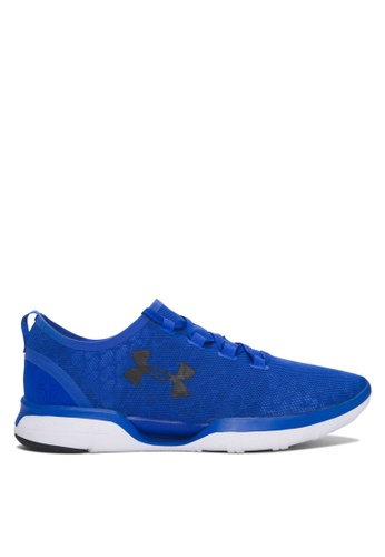Under Armour blue UA Charged CoolSwitch Run Shoes UN337SH71TKEMY_1