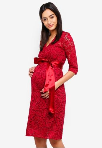 Tiffany Rose red Maternity Suzie Dress 6445EAA58C8774GS_1
