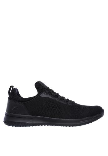 Skechers black Delson - Brewton Sneakers 63603SH94C0F04GS_1