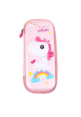 Twenty Eight Shoes pink VANSA Unicorn Series Pencil Case  VAK-A6672 C224AKC2EA01BFGS_1