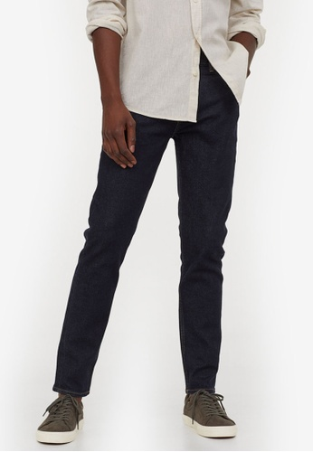 H&M blue Slim Jeans E0857AAAF91A93GS_1