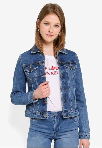 PIMKIE blue Long Sleeve Denim Jacket 9AD68AAA56049DGS_1