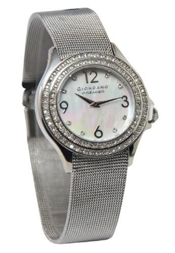Giordano - Jam Tangan Wanita - Silver - Stainless Steel - P243-11