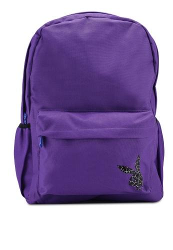 Playboy purple Playboy Backpack BF69BAC6A81878GS_1