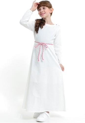 EXIT GIRL white Arabelle Dress A0C39KA540FD38GS_1