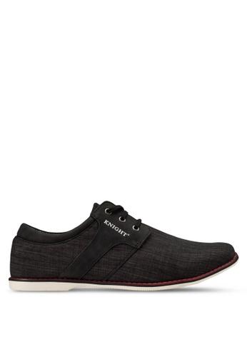 Knight black Smart Casual Shoes KN875SH97RGKMY_1