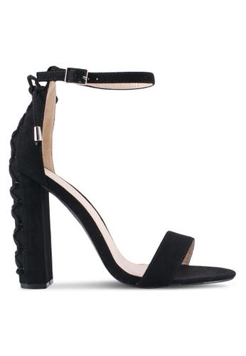 Something Borrowed black Lace Up Open Toe Heel AC981SH0E37A1BGS_1