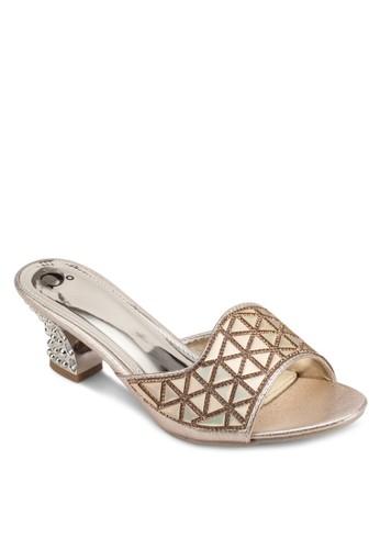 閃飾中跟涼鞋, 女鞋, esprit 特賣鞋