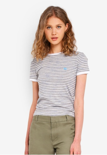 Jack Wills grey Trinkey Stripe Ringer T-Shirt D7E68AA5CB6F95GS_1