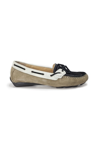 Shu Talk grey AMAZTEP Colorful Suede Leather Driving Loafer Shoes(for Narrow Feet) 213F1SH38BEDA7GS_1