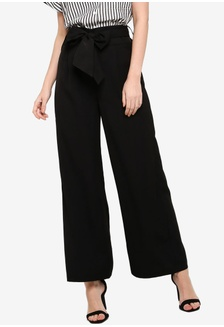 MOSCHINO Slim Cut Skinny Jeans with Print Pants Trousers Black 04016