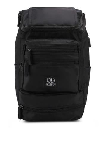 Playboy black Playboy Laptop Backpack 483E5ACCB630ACGS_1