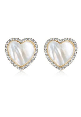 A.Excellence white Premium White Pearl Elegant Earring 7C4FBAC43B395FGS_1