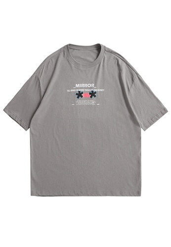 Twenty Eight Shoes Trend Printed Short T-shirt 5125S21 26032AAFBC79A4GS_1