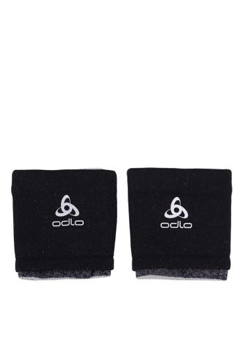 Odlo black Ceramicool Wristband 2 Pack 30BC8AC066488CGS_1