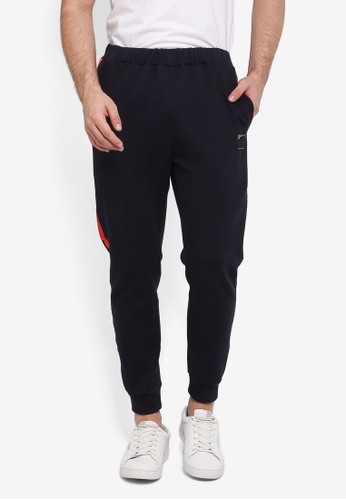 UniqTee blue Side Band Joggers 06F21AADF8E022GS_1