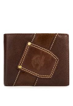 Men's Brown Genuine Leather Wallet