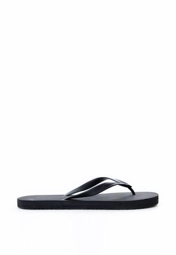 Tendencies black Tendencies Sandal BLACK RUBBER FLIP FLOP TE953SH74PWJID_1