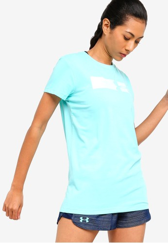 Under Armour blue Sportstyle Branded Graphic T-Shirt 15EDBAAD4742D8GS_1