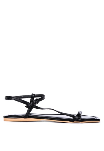 Primadonna black Strappy Sandals 2F5E8SHF3A5C7CGS_1