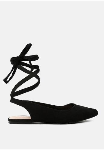 London Rag 黑色 平底女鞋 39176SH2284097GS_1
