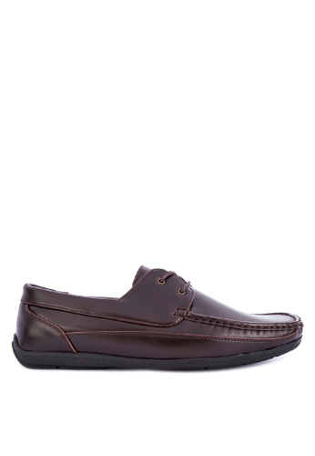 H2Ocean brown Tanix Boat Shoes 92CFBSH59AA131GS_1