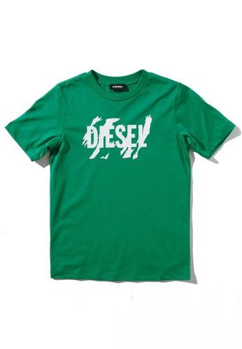Diesel Short Sleeve T-shirt 3BDEBKAC364023GS_1