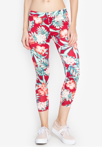 460ad10e5b3afe Shop F.101 Stretch Printed Long Leggings Online on ZALORA Philippines