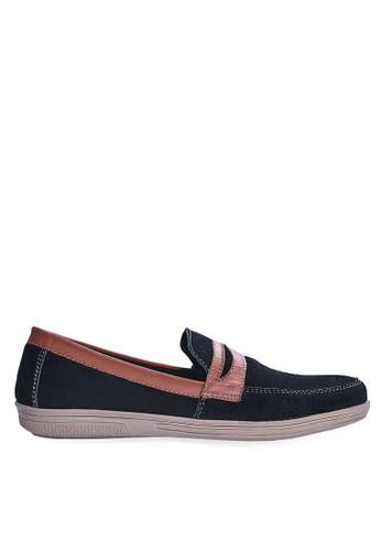 Sogno black Sepatu Slip On Casual GHS 021 DD696SH722E1FCGS_1