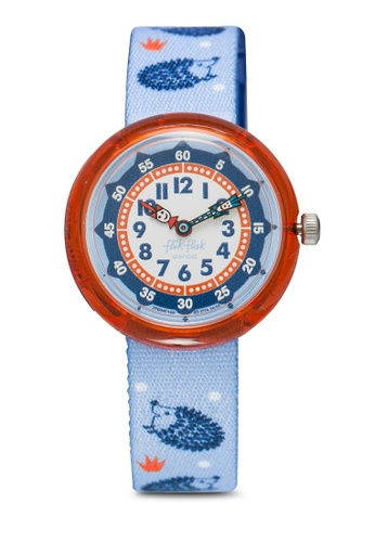 Flik Flak blue Hedgehugs Watch 57CDBKC60D185FGS_1
