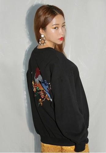 韓時尚背面繡花長袖衫, esprit旗艦店服飾, 外套