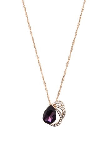 Christiesprit twe 閃鑽寶石吊墜項鍊, 韓系時尚, 梳妝